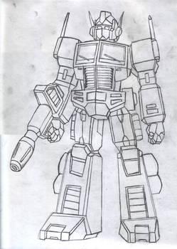 Optimus Prime... Again