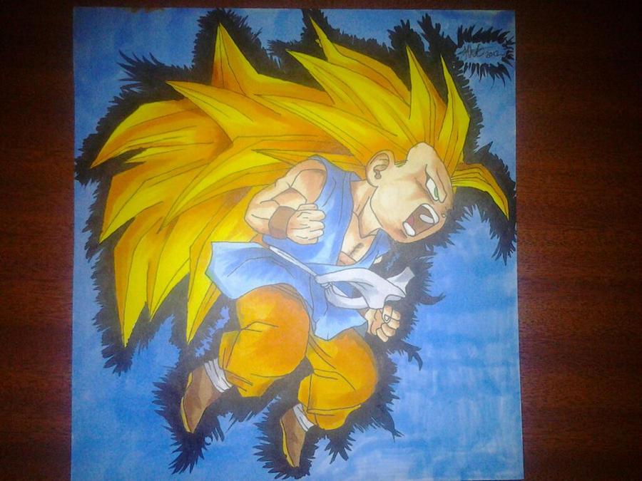 SSJ3 Goku Chibi