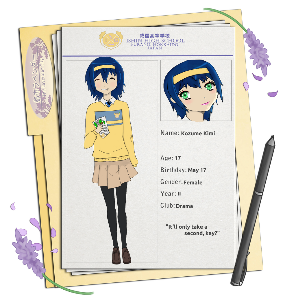 TLC Application: Kozume Kimi by GoodWaifu