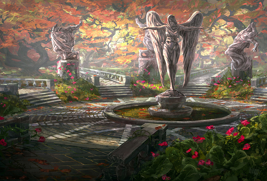 Images des lieux [En cours] The_garden_by_minnhagen