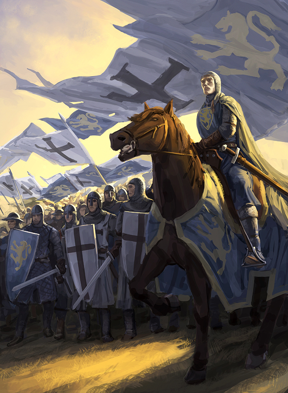 Crusaders in Tavastland by Minnhagen