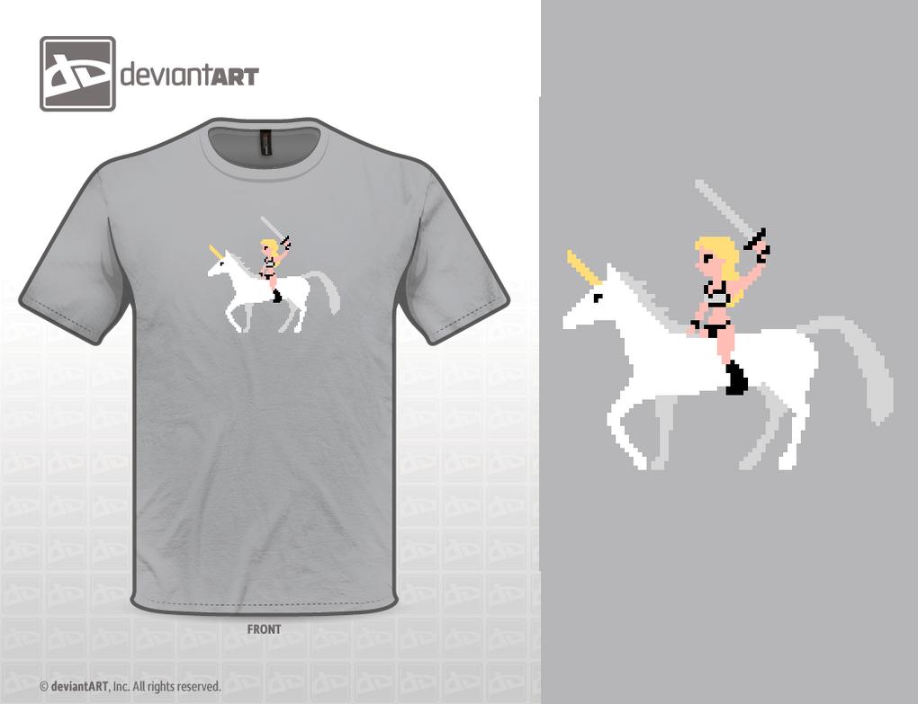 Unicorn Warrior by Zombie-Kawakami