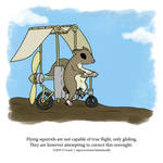 A Fantastically False Fact About Flying Squirrels by Zombie-Kawakami