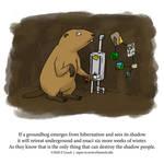 A Fantastically False Fact About Groundhogs