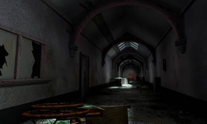 The Corridor He Found by liquidmuffin