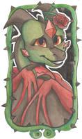 Florah Thorne Watercolor Badge by KhaoticVex