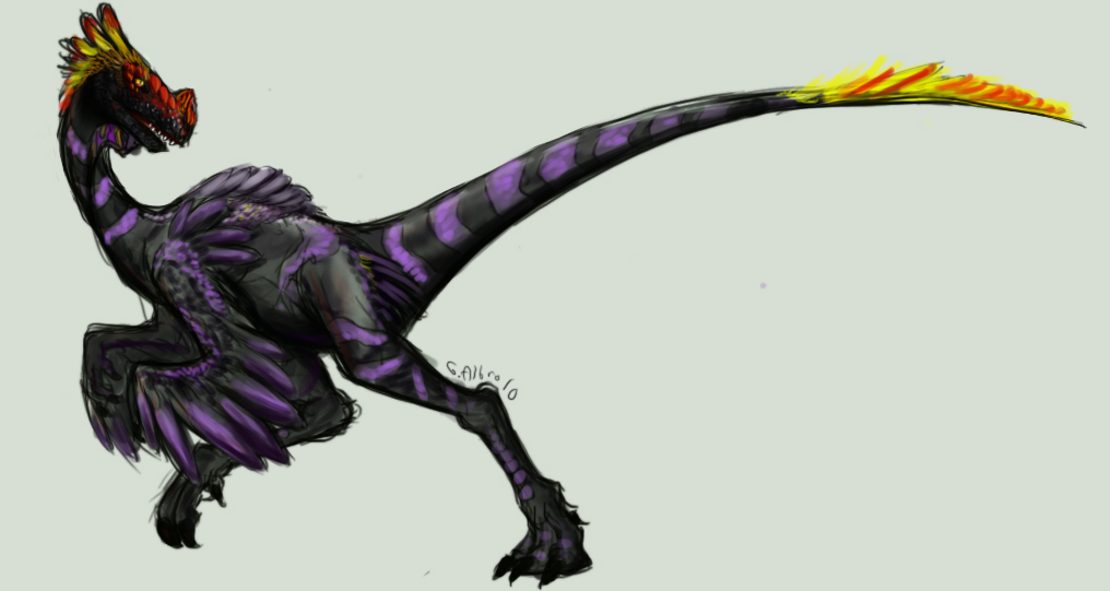 ornitholestes by disgustiphage