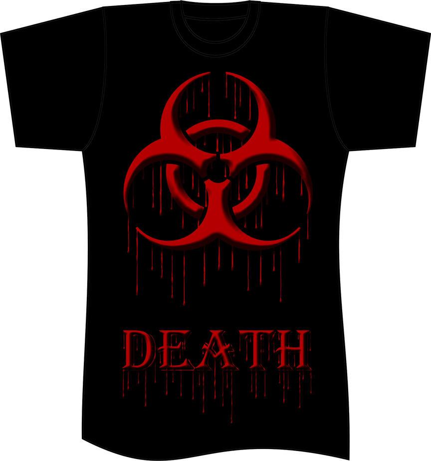 T Shirt Design Biohazard Logo By Reaperhexvampire On