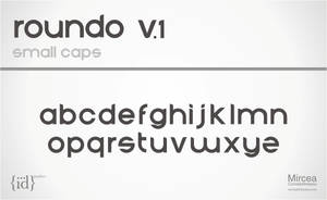 roundo typeface