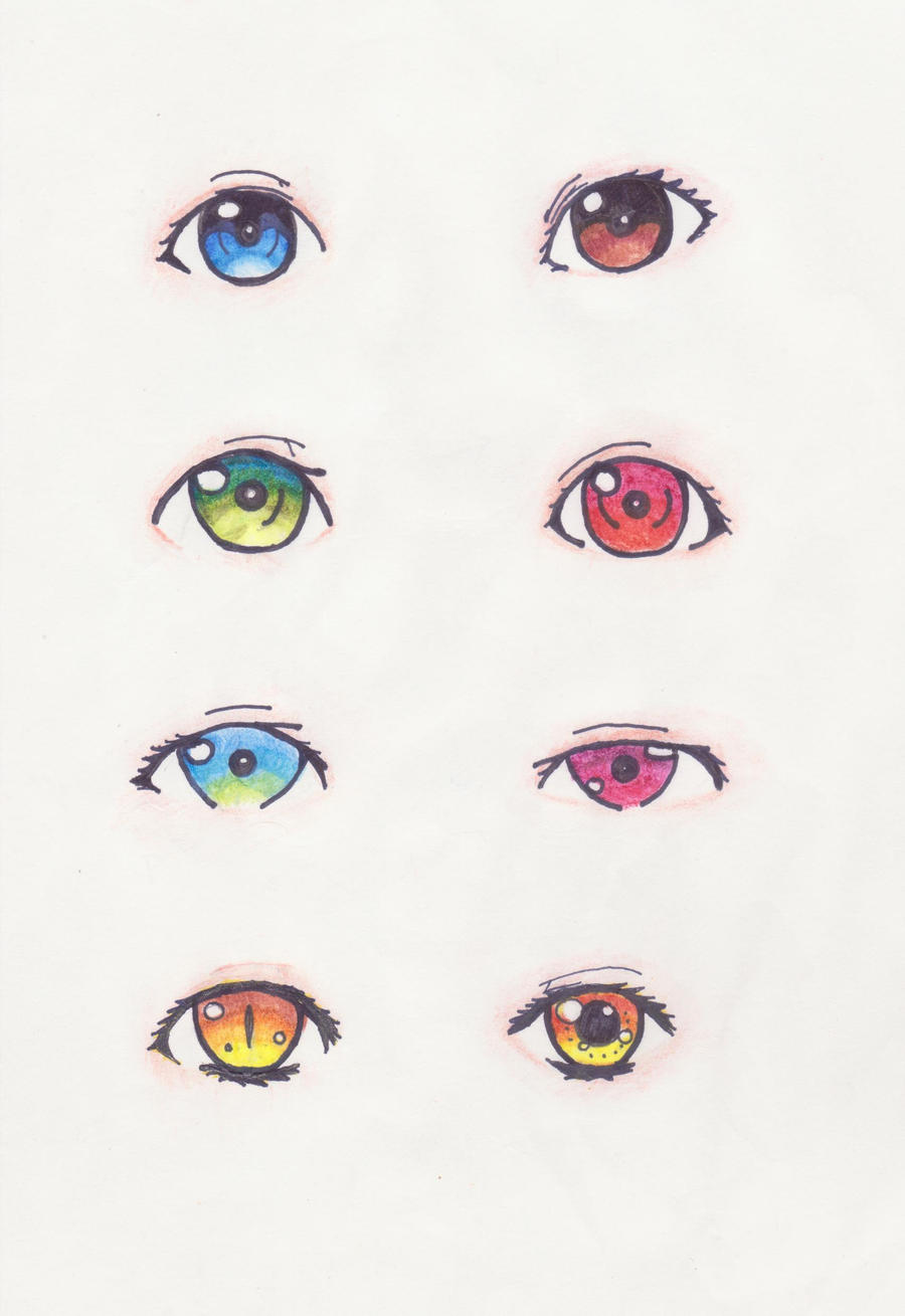 how to draw fairy eyes