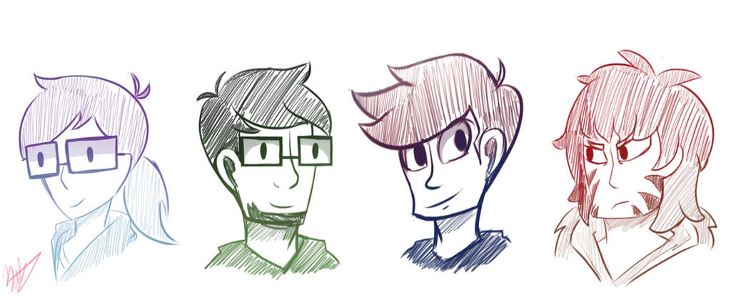 X-Ray and Vav Groups Sketch by Bratcole