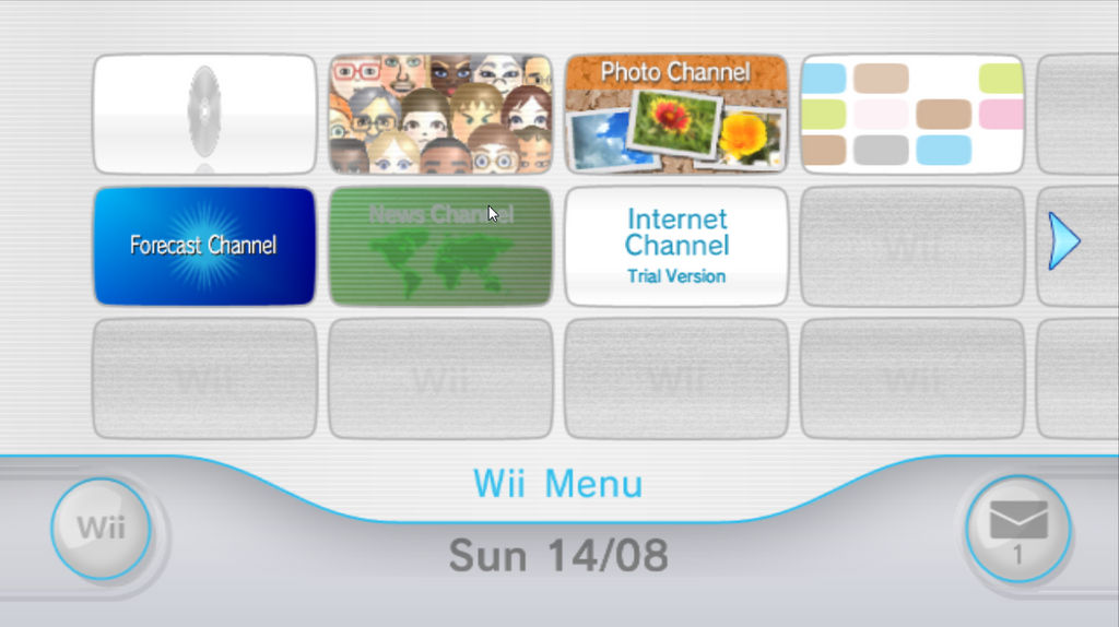 Wii Menu 3 0E - Dolphin Emulator by TheFeistyDino on DeviantArt