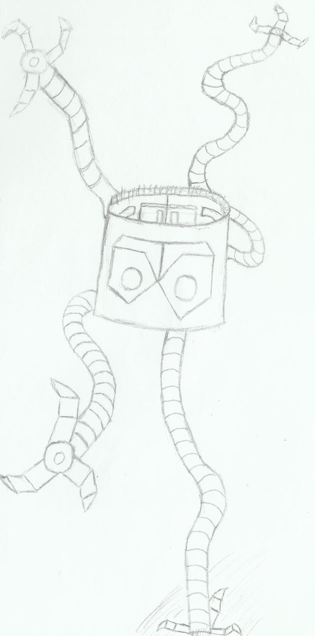 dr octopus tentacles doodle by superior spider on deviantart