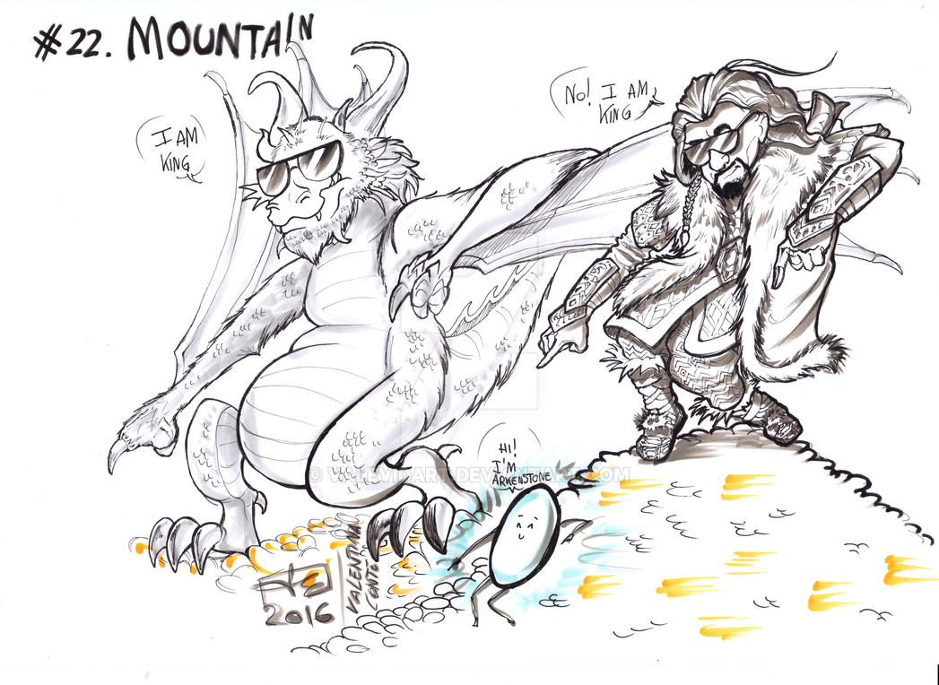 Mountain by ValeVidart