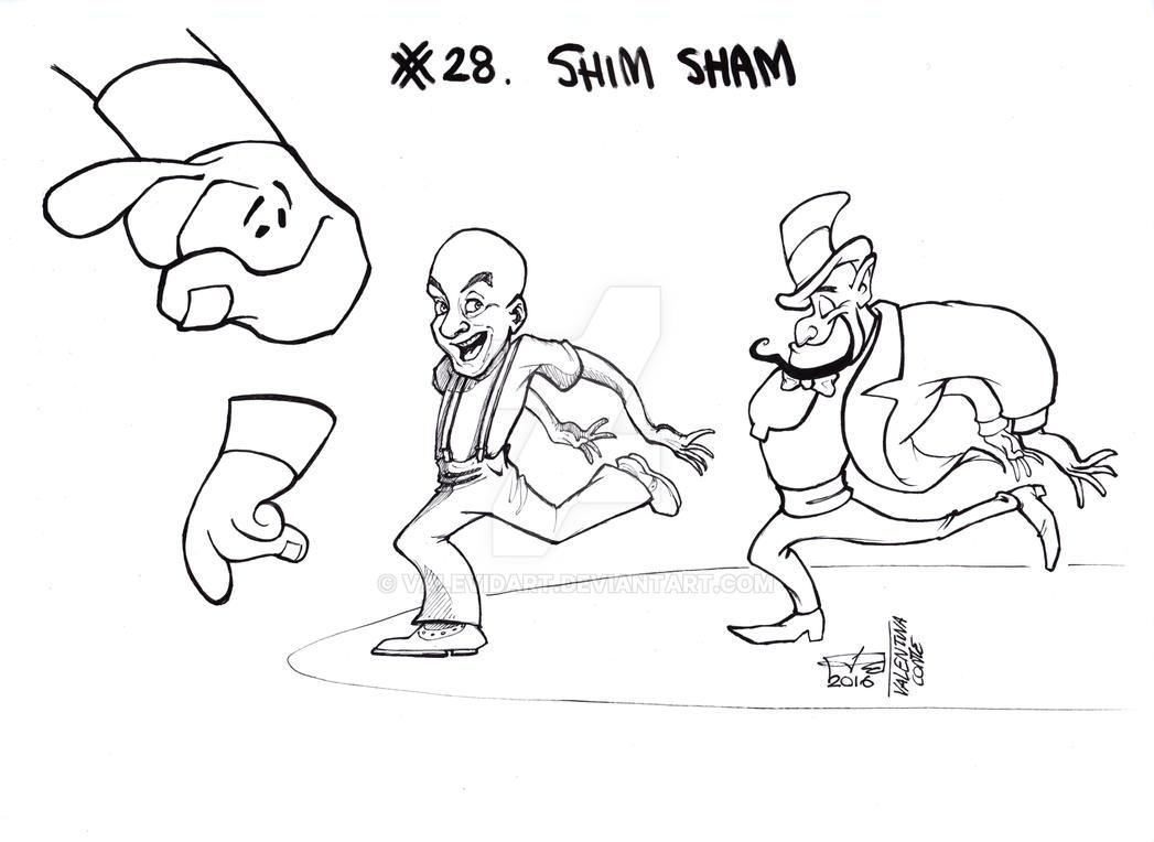 Shim Sham Frankie Manning and Genie by ValeVidart