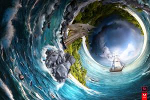 Eye of the Storm, Adobe #TakeTenContest by JeremyYoung