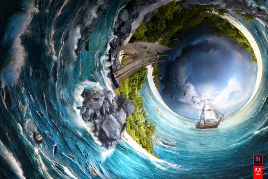 Eye of the Storm, Adobe #TakeTenContest