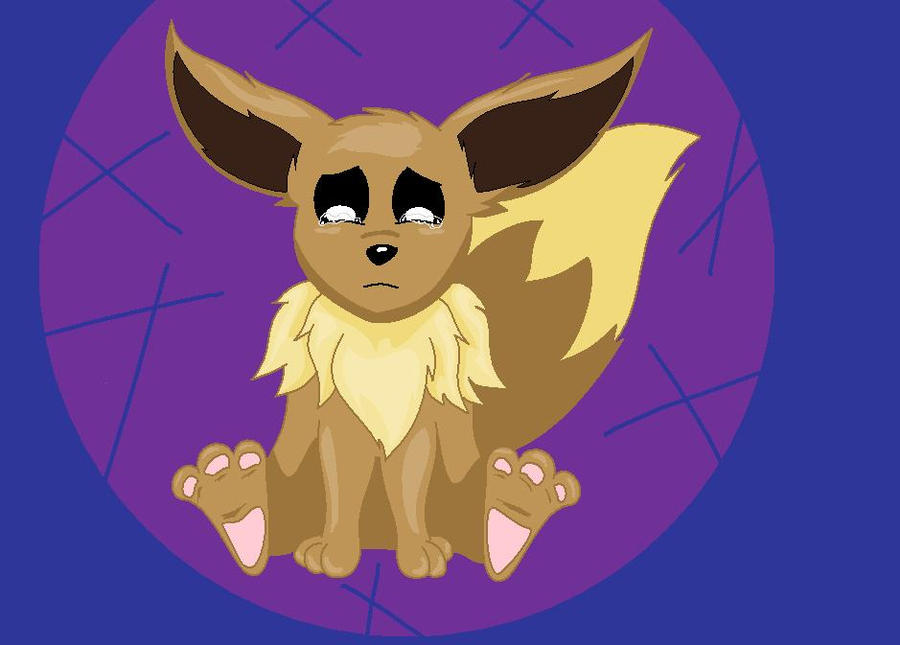 Eevee Crying By Silvernazo On Deviantart