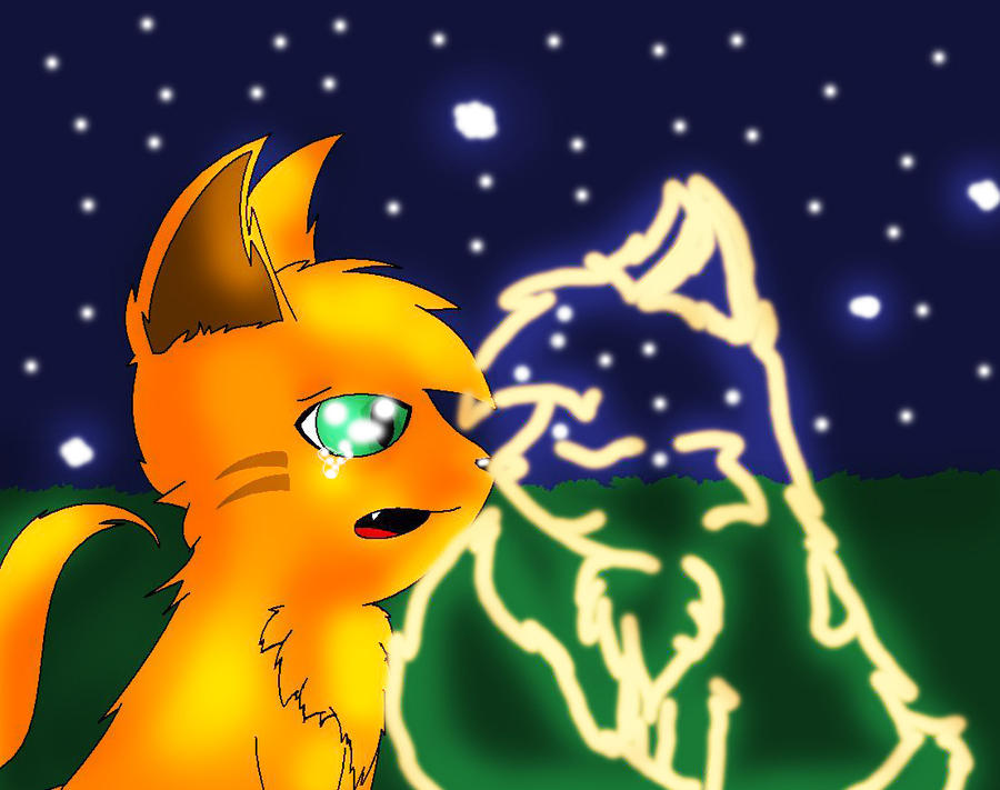 Firestar And Spottedleaf In Starclan | Olivero