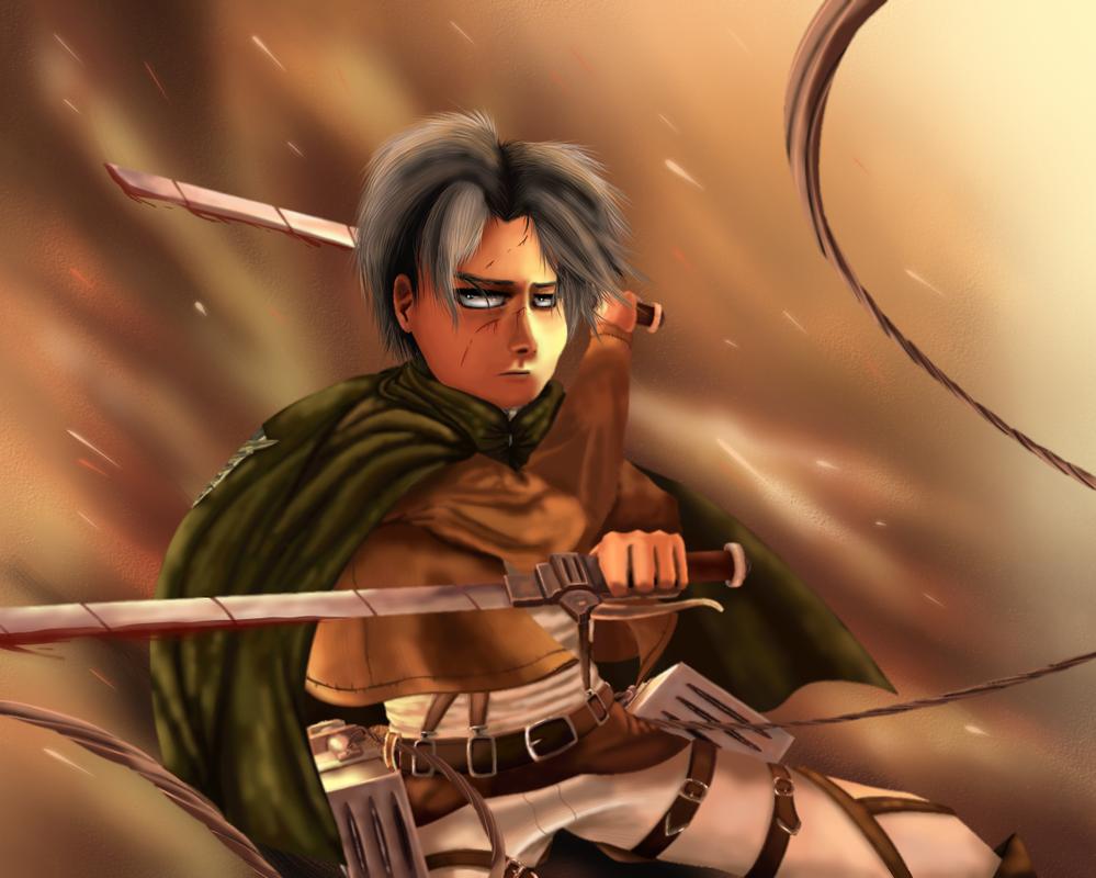 Captain Levi by Silvernazo