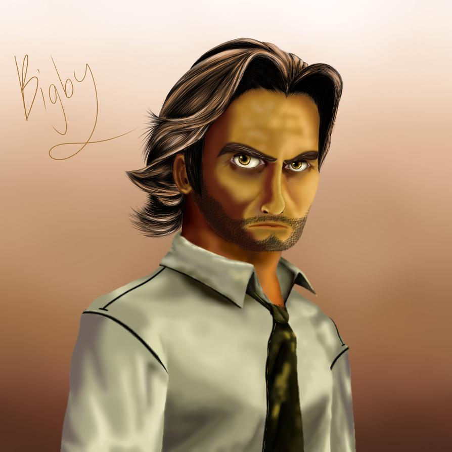 Bigby- The Wolf Among Us by Silvernazo