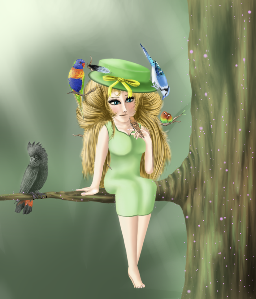 Bird's Nest by Silvernazo