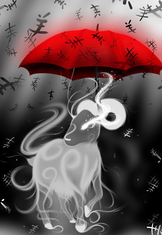 Chinese Zodiac- The Ram by Silvernazo