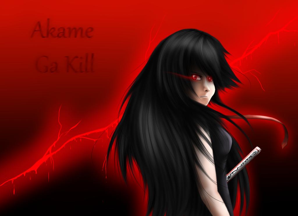 Akame Ga Kill by Silvernazo
