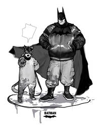 Batman with cat something..