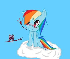 Rainbow Dash by CheckeredMarionette8
