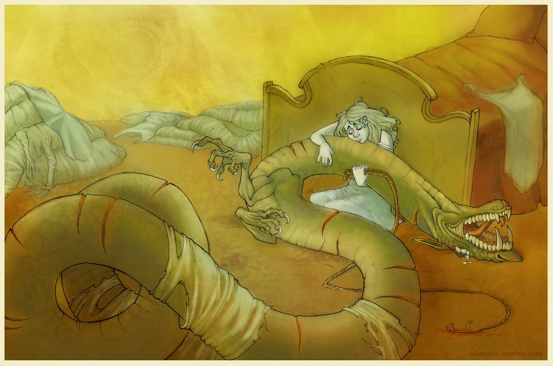 Lindworm Dragon: Prince Lindworm By SalShepherd On DeviantArt
