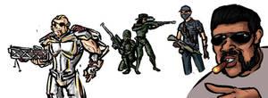 XCOM 2 Crew by TheNoodleGod2012