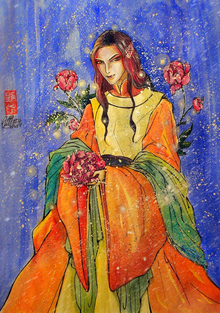 watercolor by Mirzaeva