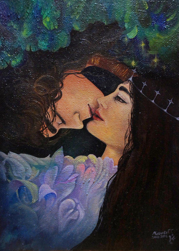 angell kiss by Mirzaeva