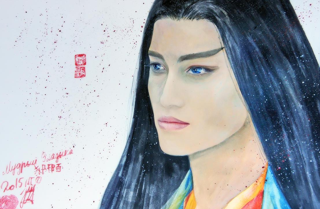 The Journey of Flower Hua Qian Gu  ( Sha Qian Mo) by Mirzaeva