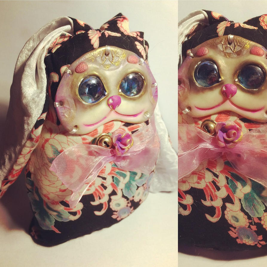 Puppet Bunny by Mirzaeva