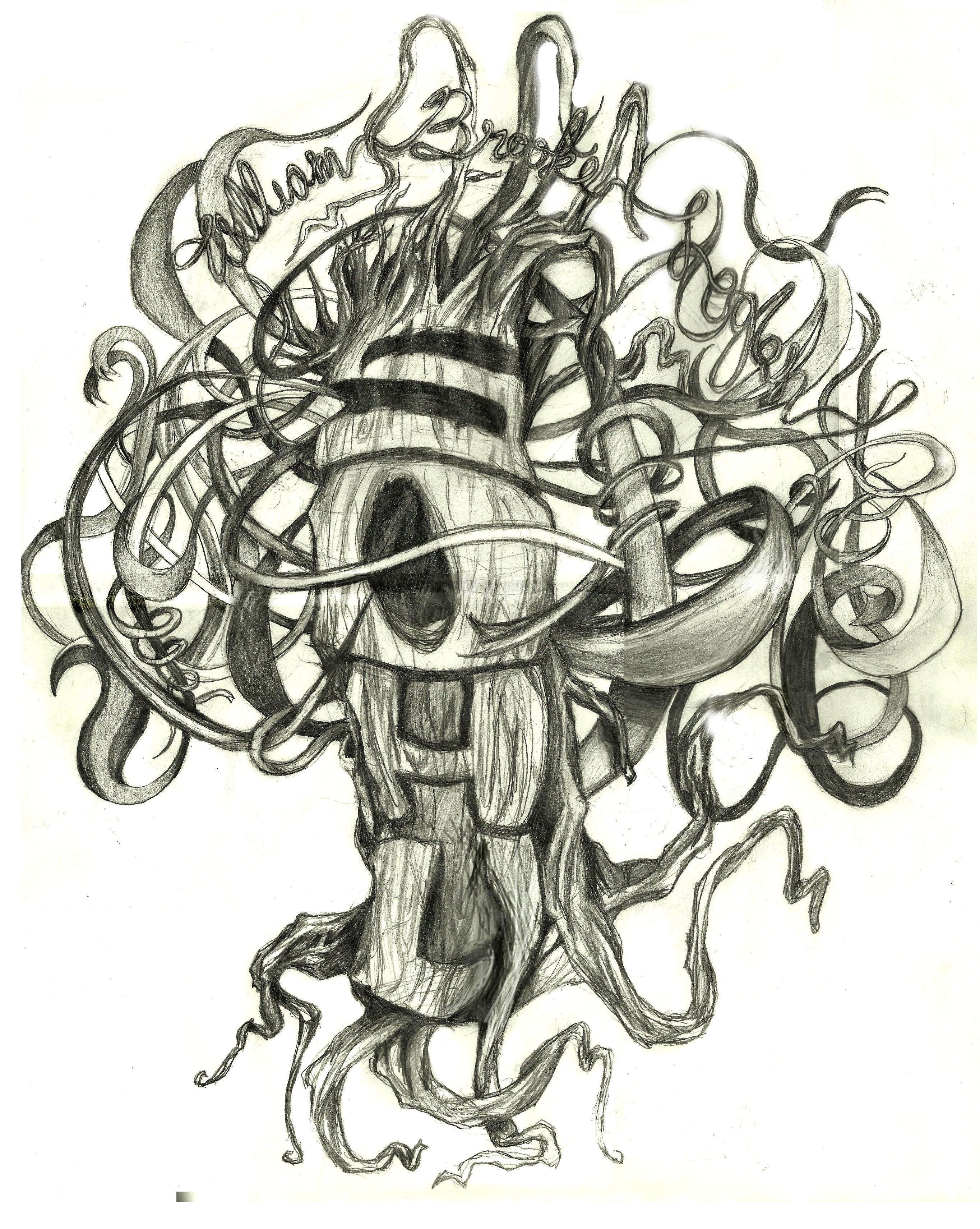 fec4a83954d00 Tattoo Ideas, Families Trees Tattoo, Family Trees, Tattoo .
