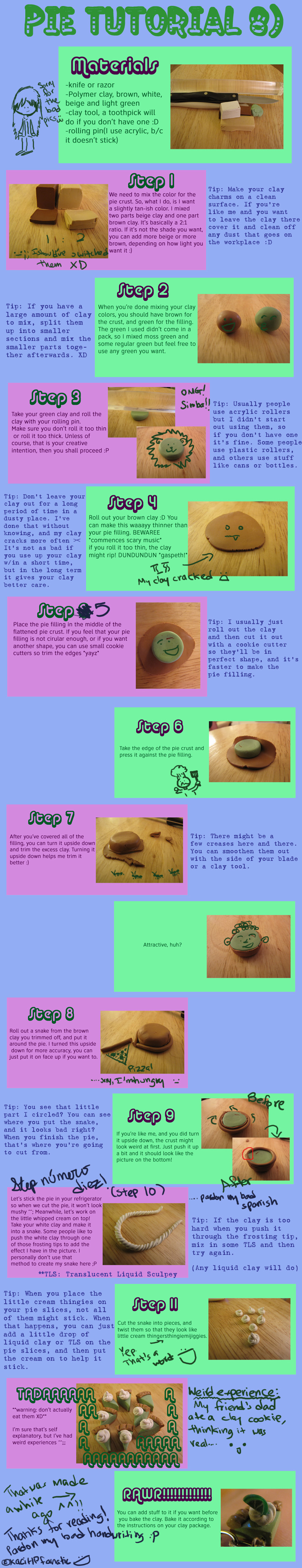 Pie Tutorial by KaciHPfanatic