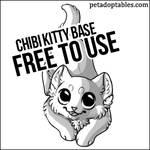 FREE Chibi Kitty Base for Adoptables
