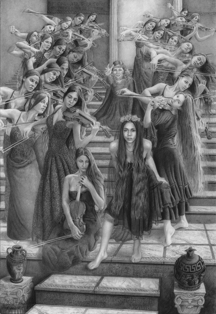 A Symphony For Persephone by CaroleHumphreys