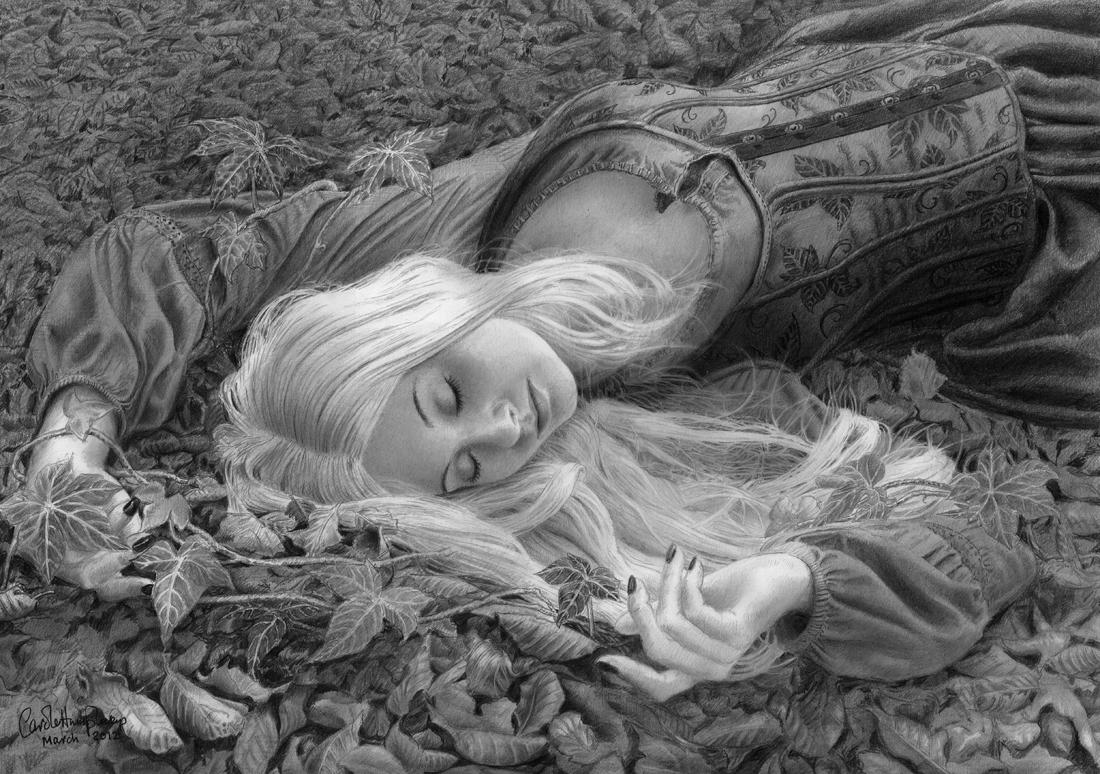 While she was sleeping ... by CaroleHumphreys