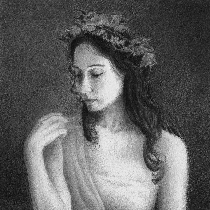 Ivy Portrait by CaroleHumphreys