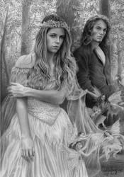 Titania and Oberon