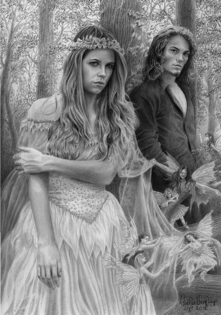 Titania and Oberon by CaroleHumphreys