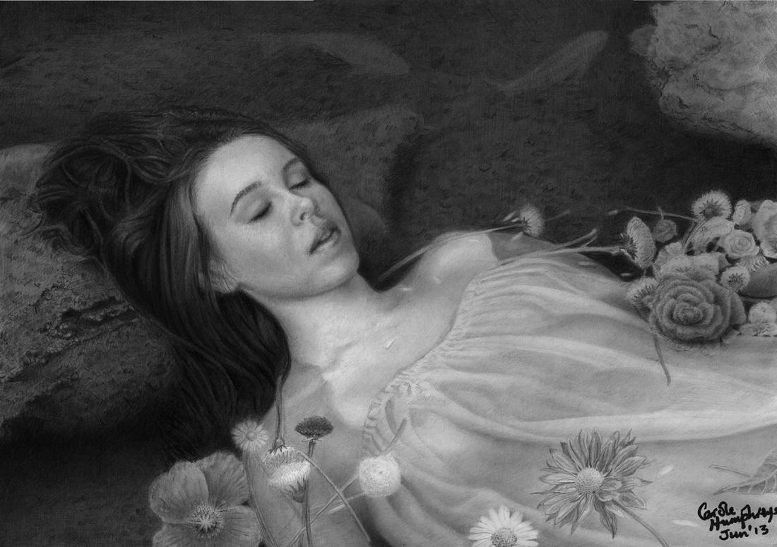 Ophelia's Flowers by CaroleHumphreys
