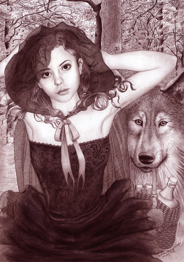 Little Red Riding Hood by CaroleHumphreys