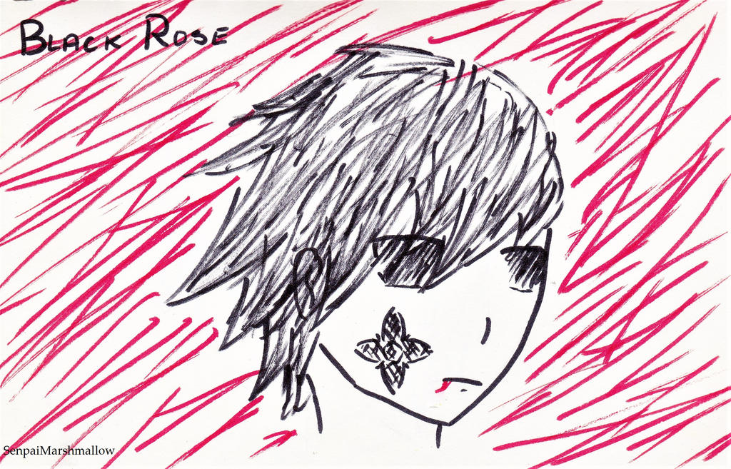 Black Rose character colour by SenpaiMarshmallow
