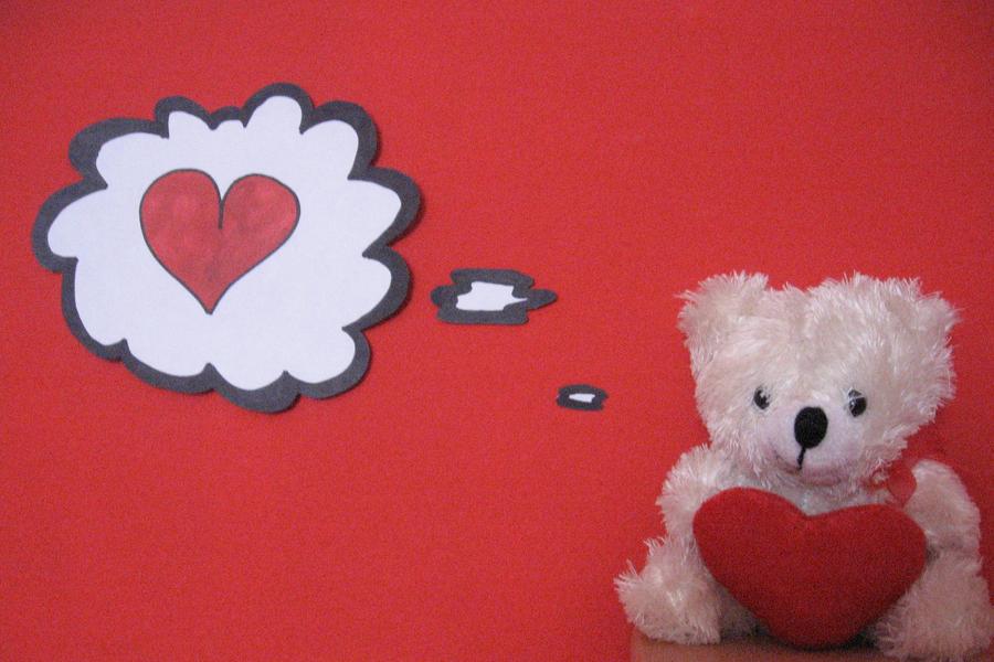 Teddy Loves You by KyraTeppelin