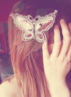 Butterfly Lady. by KyraTeppelin