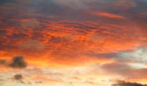 Sky On Fire by KyraTeppelin